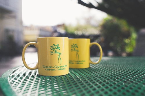 Chelsea Garden Inn Coffee Mugs